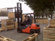 Forklift Competition 2012